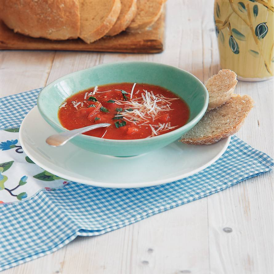 Basisrecept verse tomatensoep