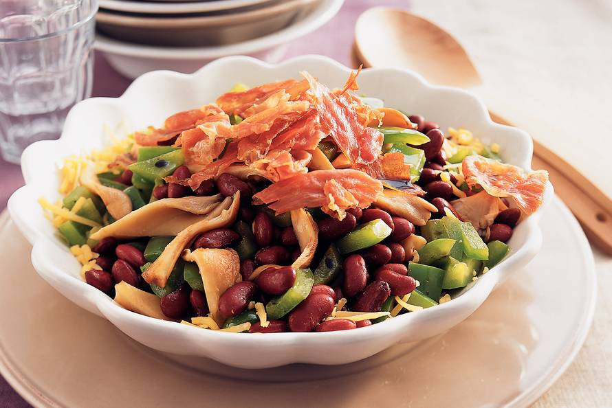 Warme bonensalade met krokante ham recept allerhande albert heijn - Lijst van warme kleuren ...