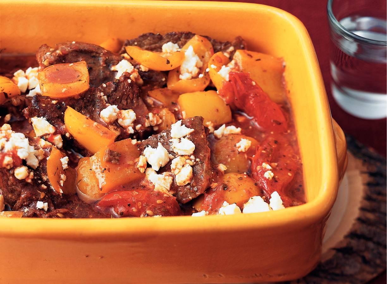 Grieks rundvlees uit de oven