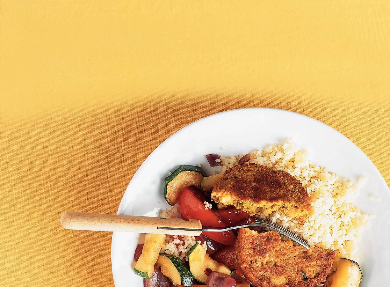 Couscous met Marokkaanse schijf