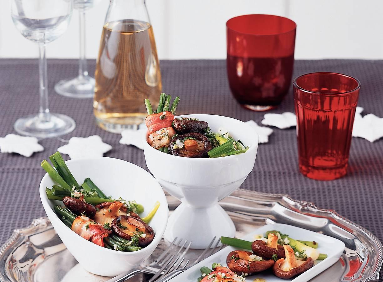 Groentebordje met peterselie-vinaigrette