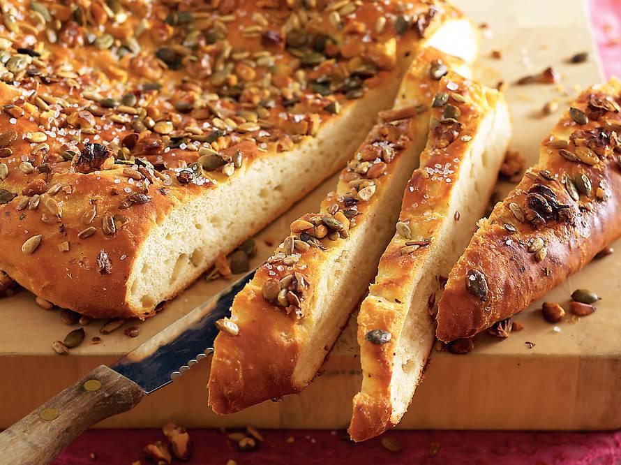 Walnotenplaatbrood