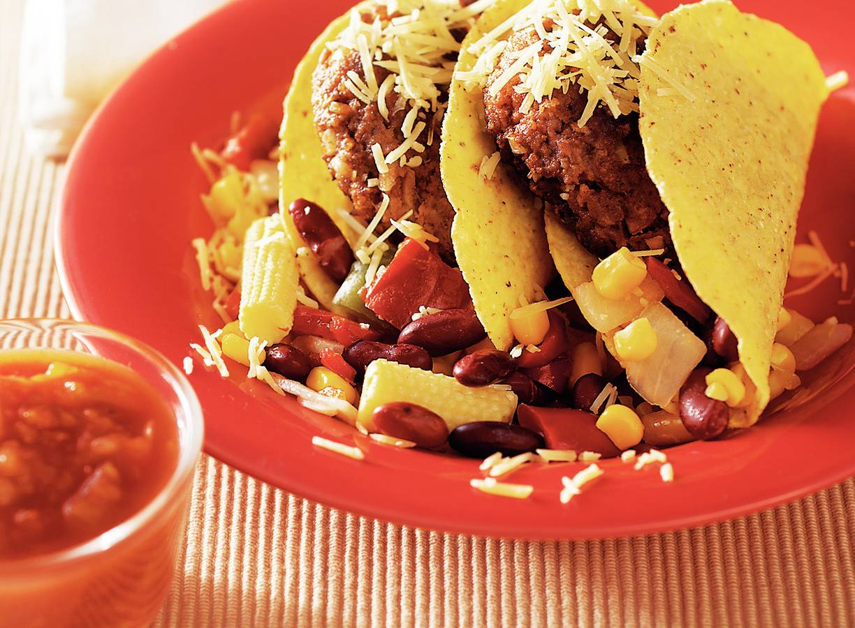Mexicaanse tacoburgers