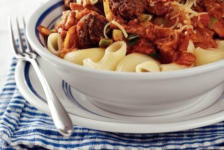 macaroni tomatensaus gehakt