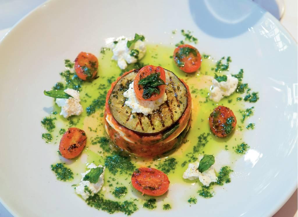 Lasagne van gegrilde aubergine met twee soorten kaas - Albert Heijn