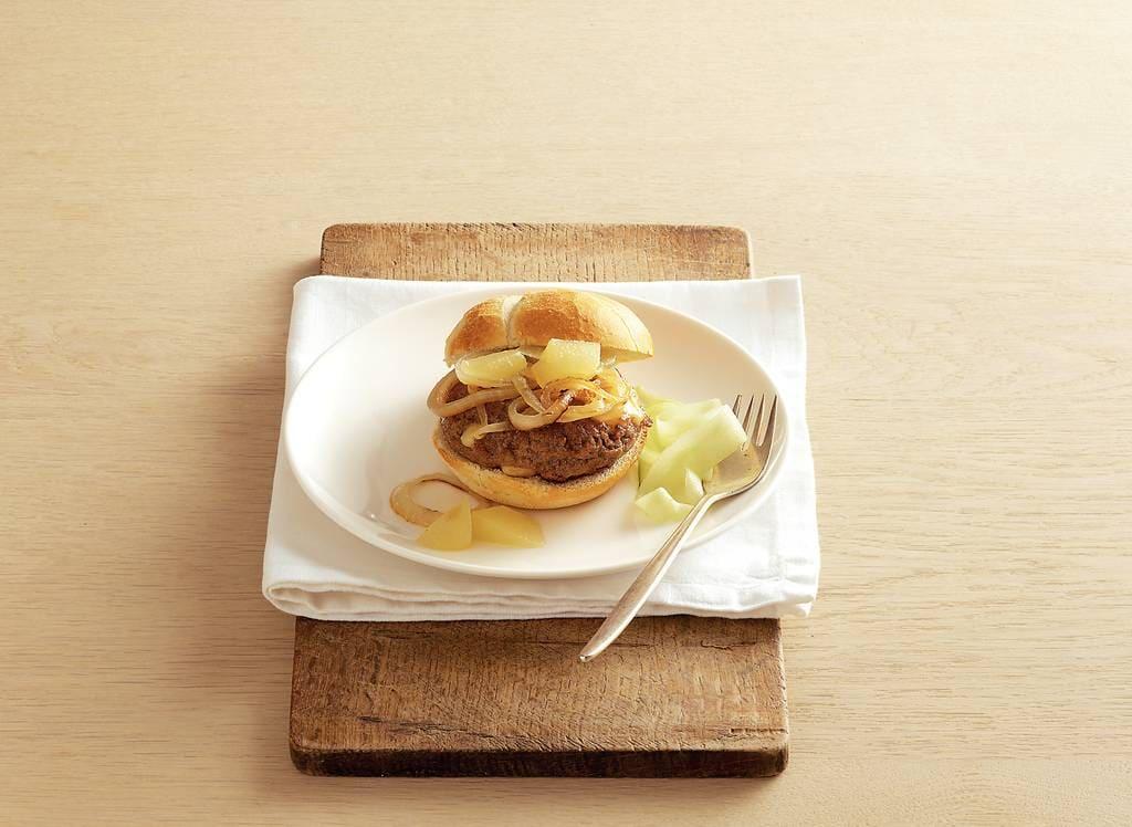 Kaasburger met perencompote - Albert Heijn