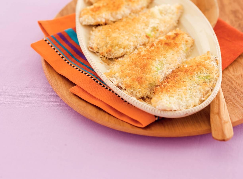 Tilapia uit de oven met wasabikorst