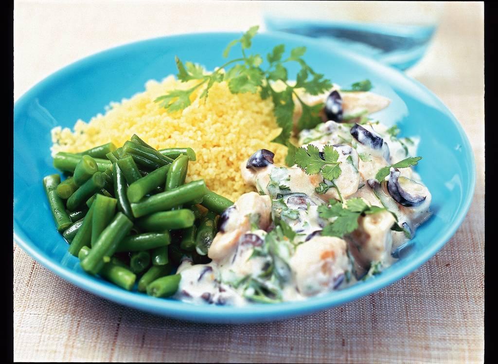 Kip met yoghurt en olijven - Albert Heijn