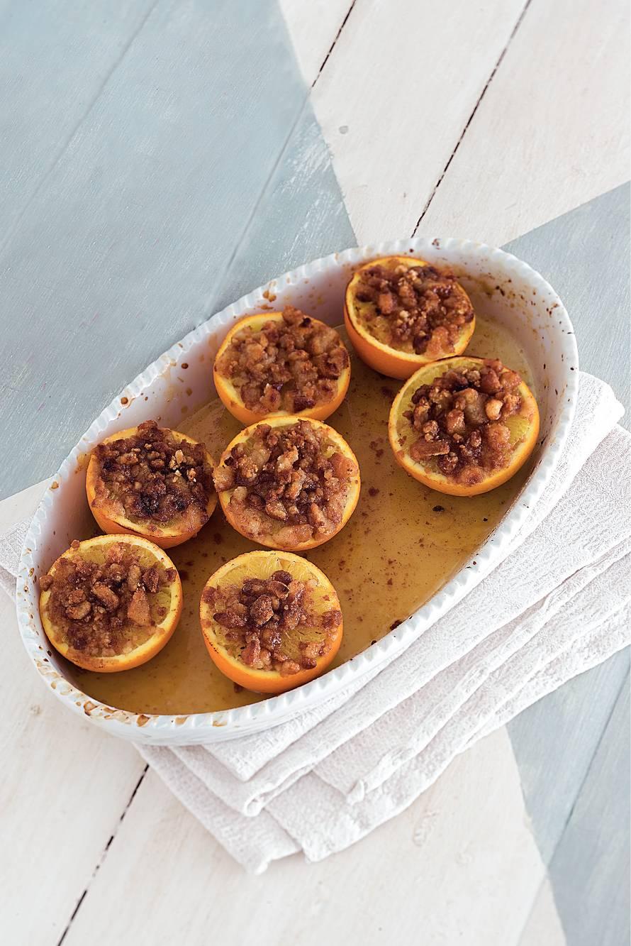 Sinaasappels uit de oven