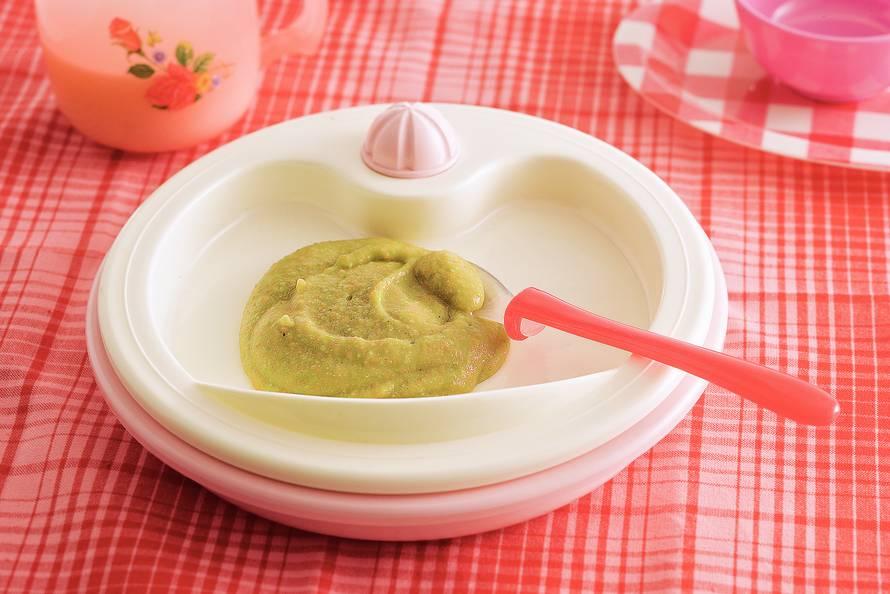 Groentestamppotje met gehakt (baby 6-8 maanden)
