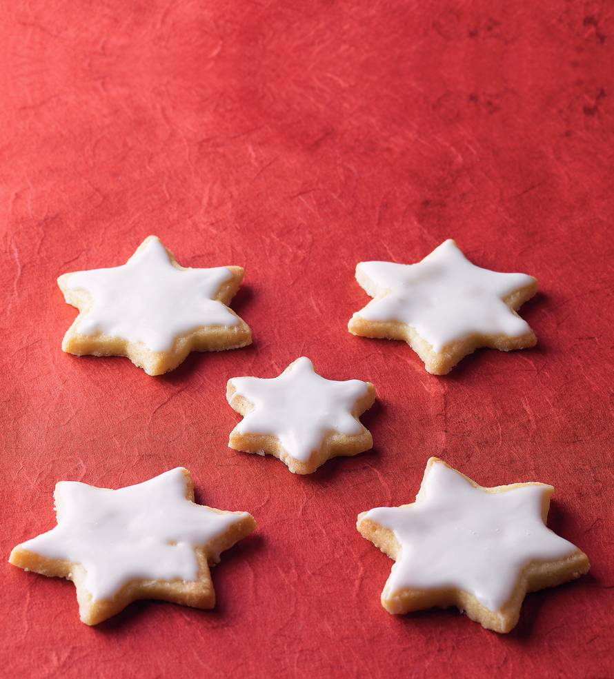 Geglazuurde (kerst)koekjes