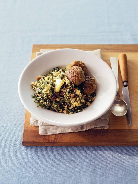 Couscous met boerenkool