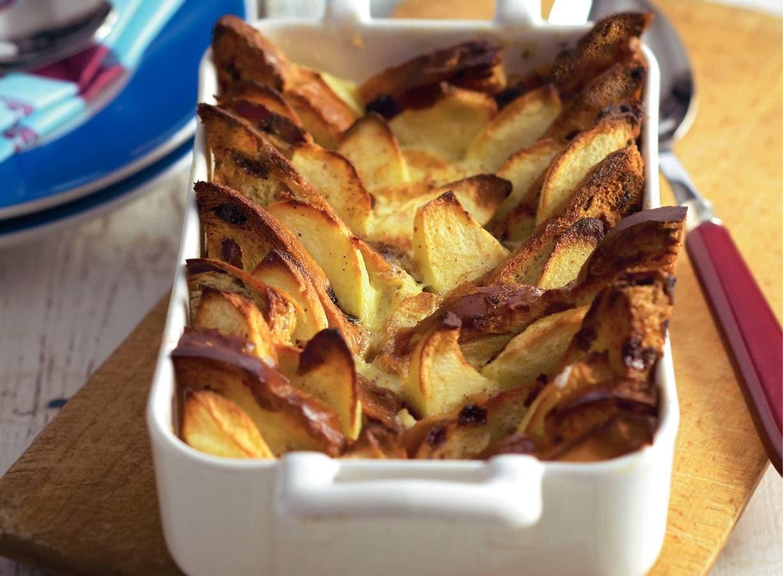 Broodschotel met appel