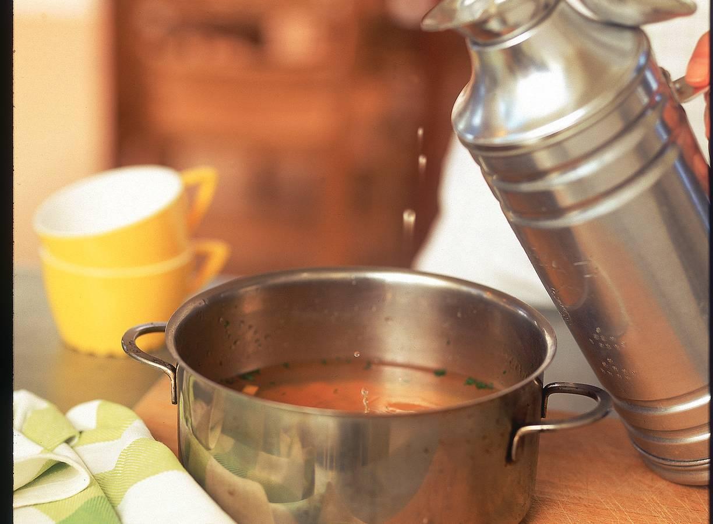 Pittige bouillon