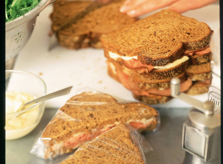 Sandwiches met rosbief