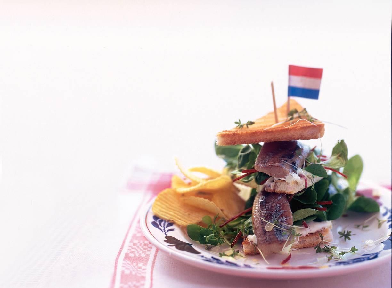Hollandse clubsandwich