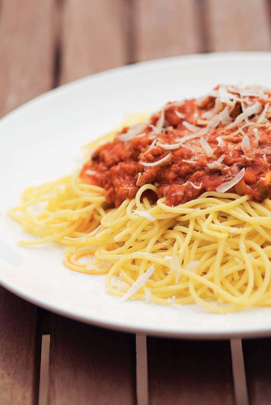 Tante Greets spaghetti bolognese