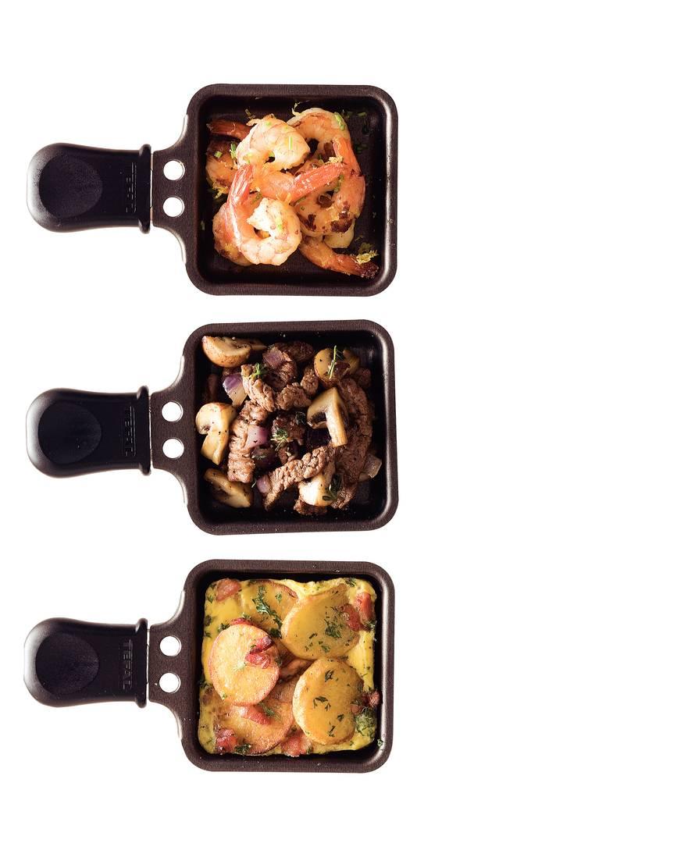 Aardappelschijfjes met spek en ei