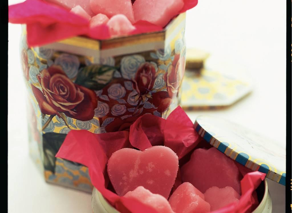 Roze borstplaat - Albert Heijn
