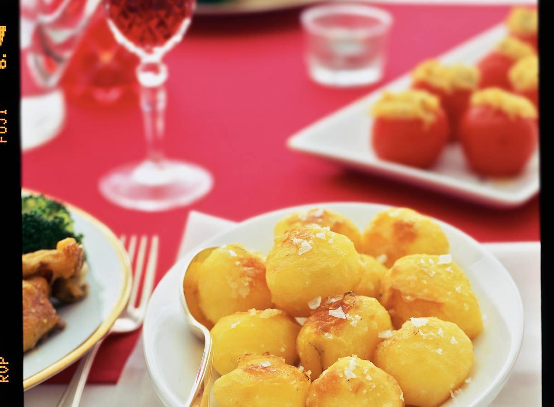 Superkrokante aardappels met zeezout