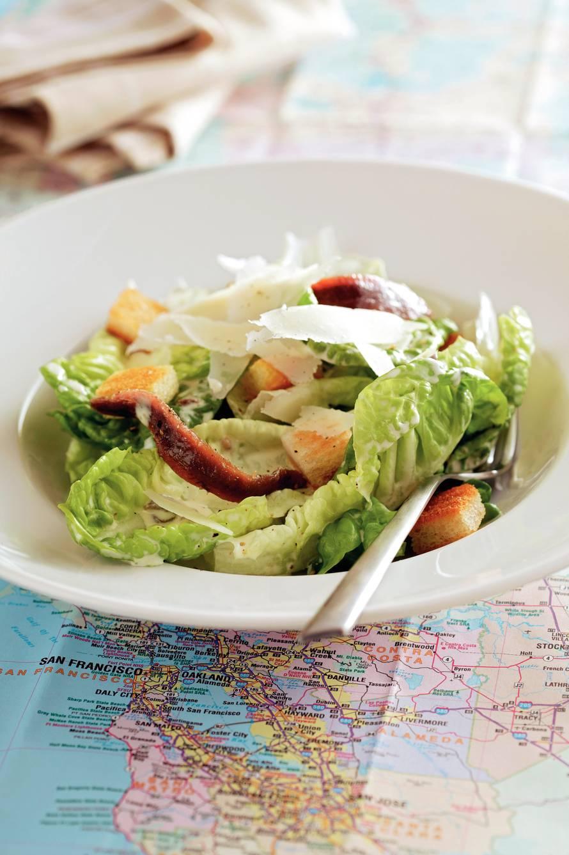 Frisse caesar salad