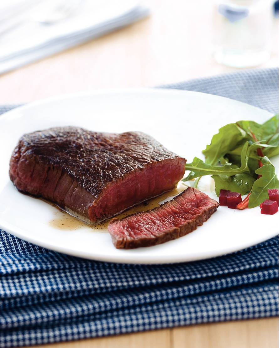 Basisrecept biefstuk bakken