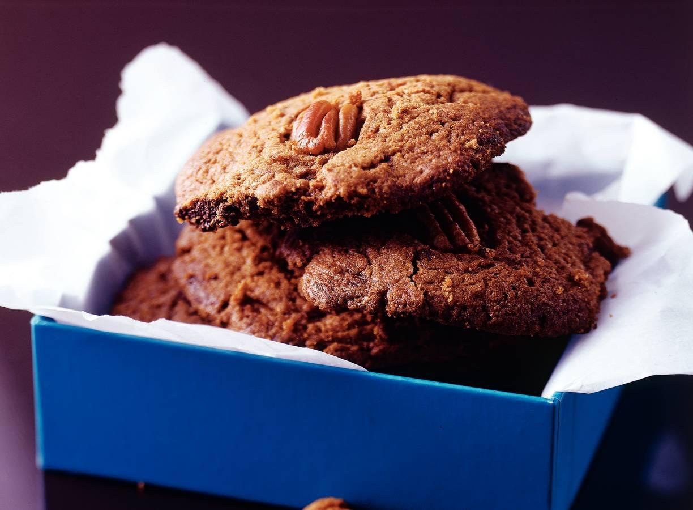 Chocolade-pecankoekjes