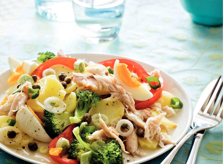 Aardappel-makreelsalade