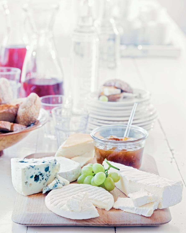Ambachtelijke Franse kaasplank