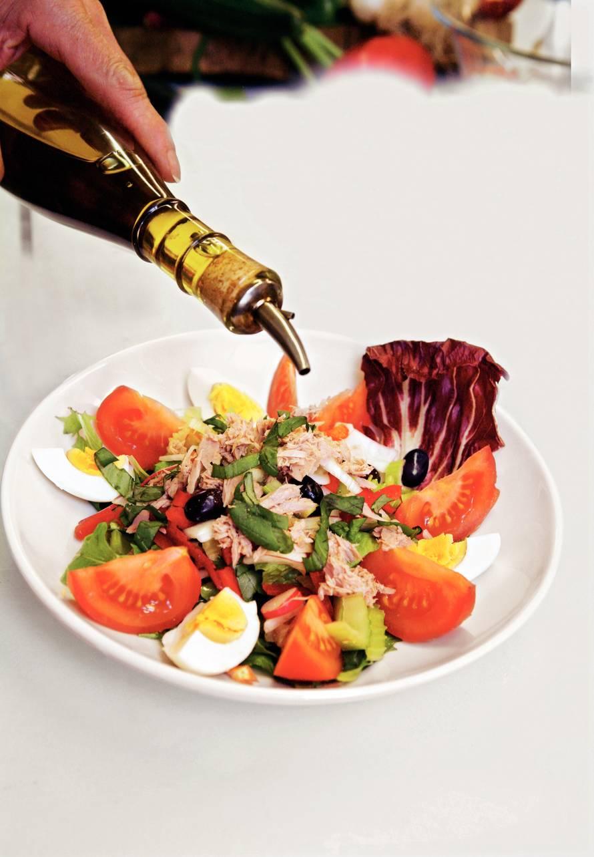 Rijkgevulde salade niçoise