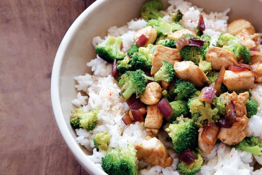 kip en broccoli