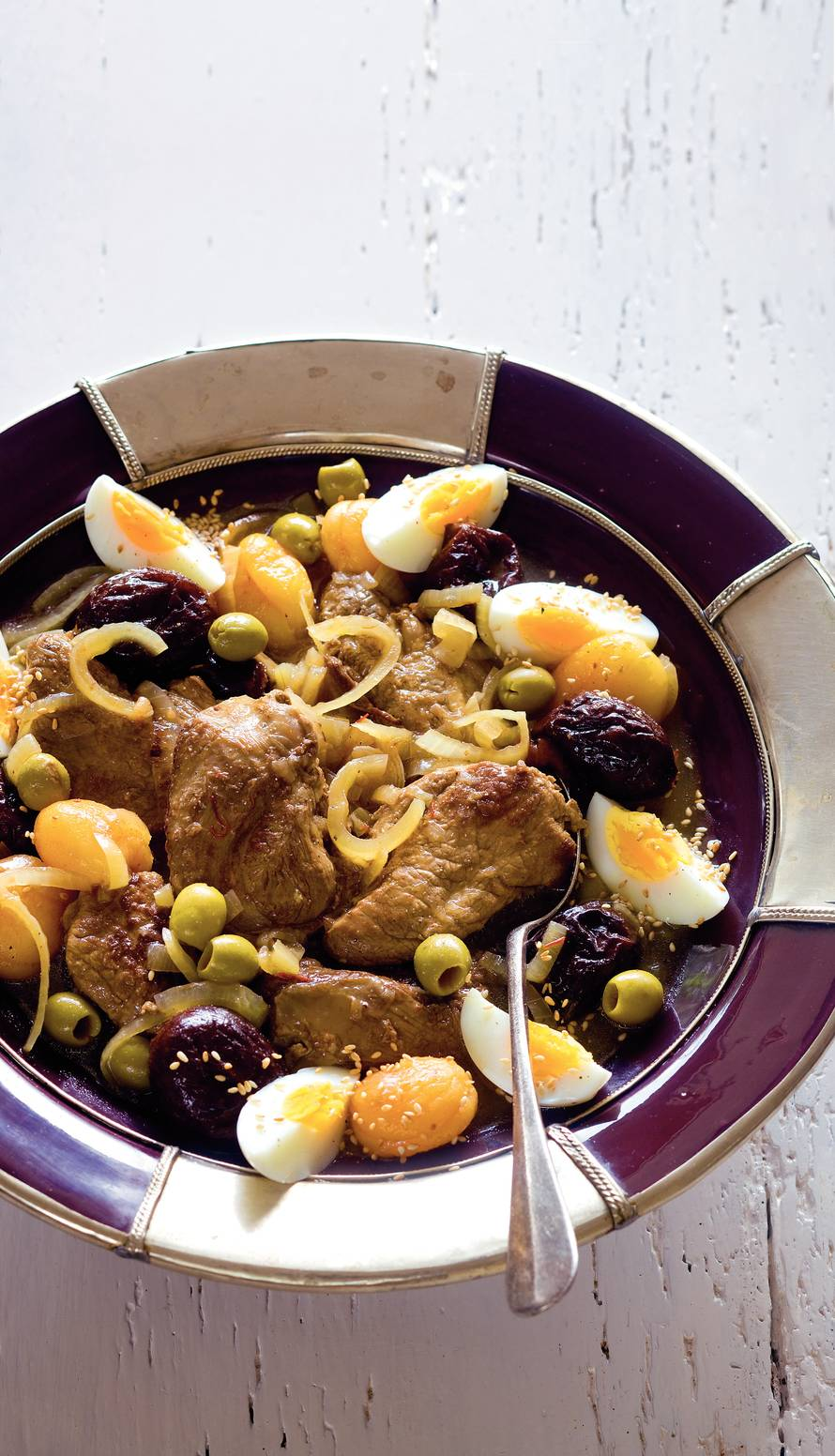 Marokkaanse lamsstoofschotel
