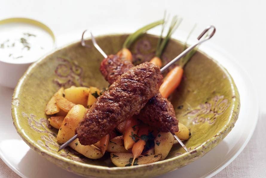 Turkse gehaktkebab