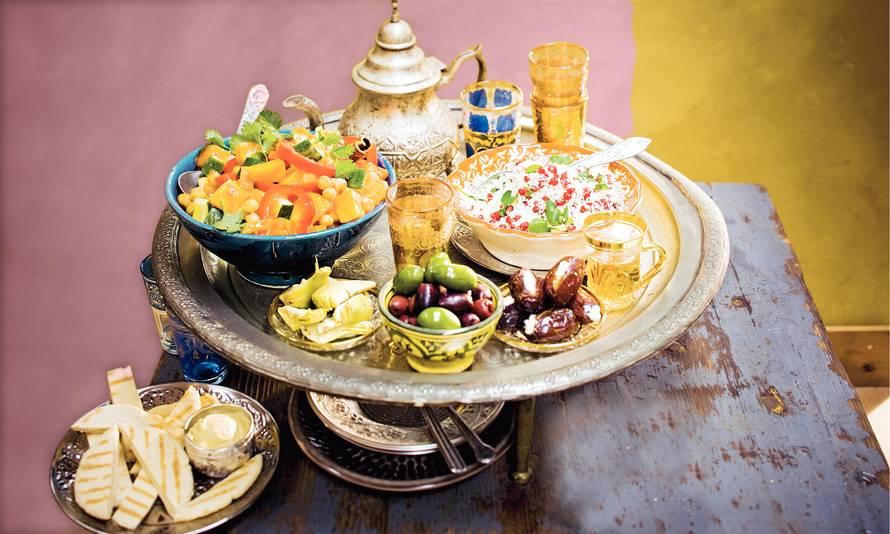 Marokkaanse stoofschotel met groenten