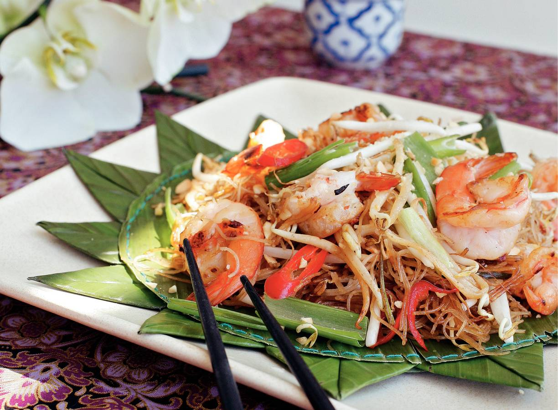 Pad thai met mihoen
