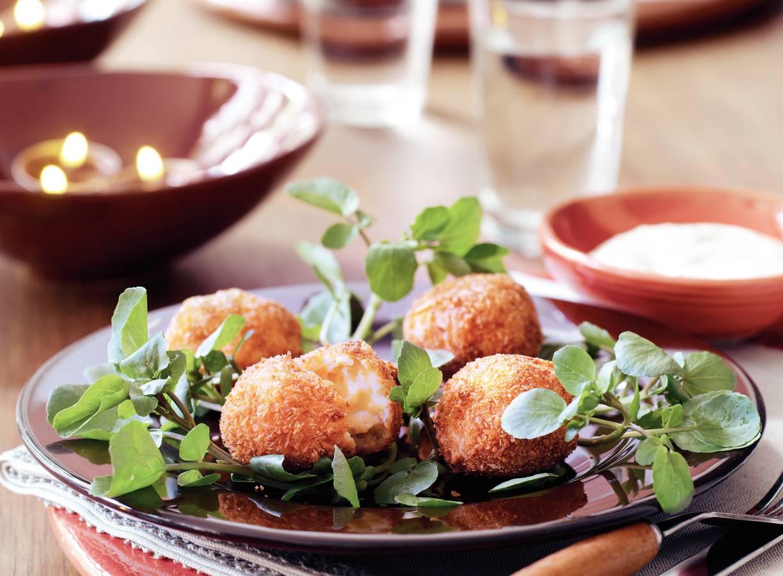Aardappelkroketjes met aioli