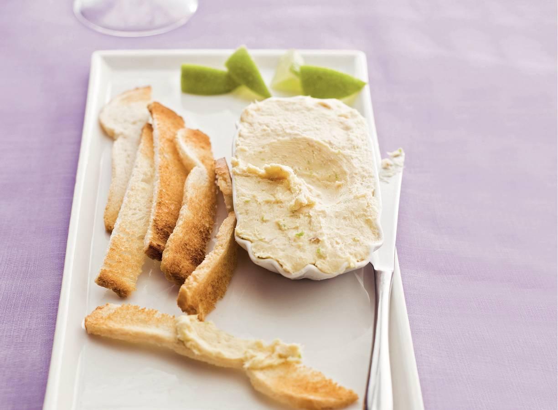 Makreelrillette met toast