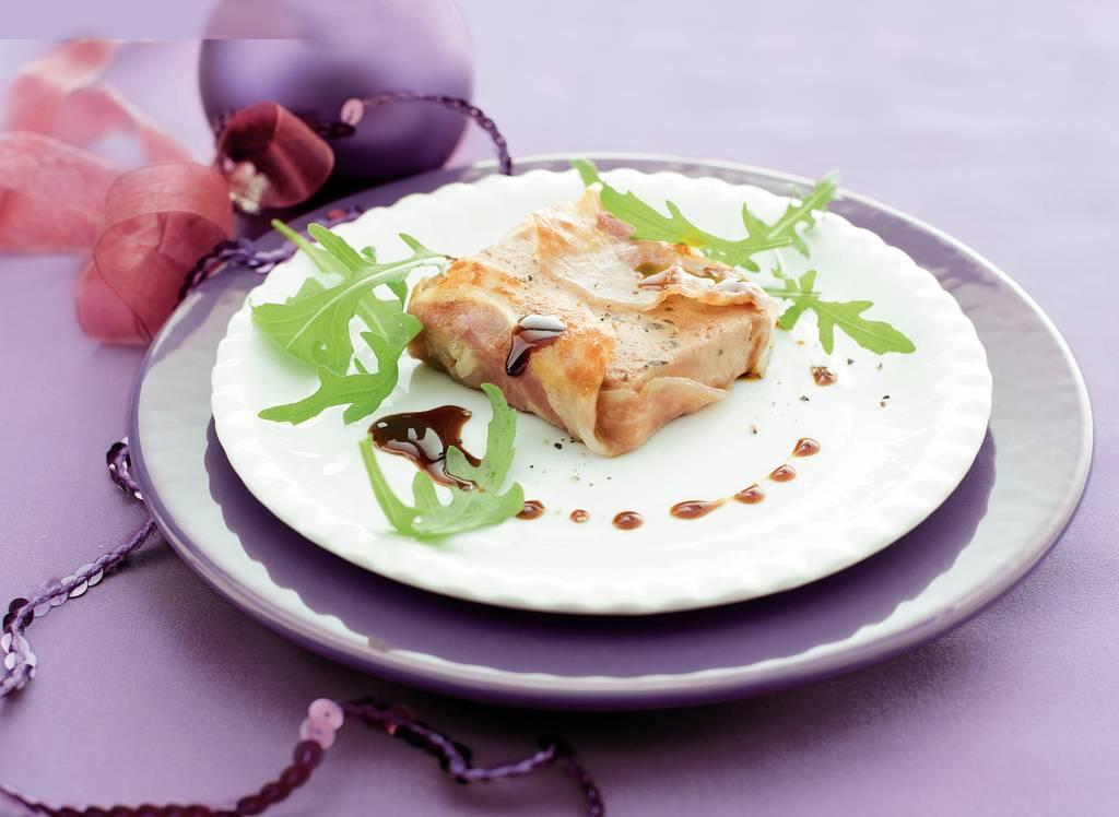 Truffelpaté in pancetta