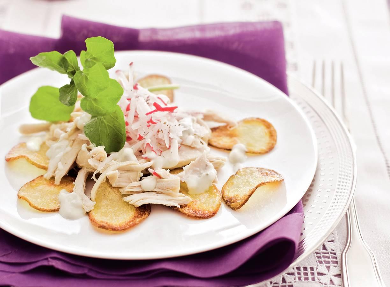 Kalkoensalade met roquefort
