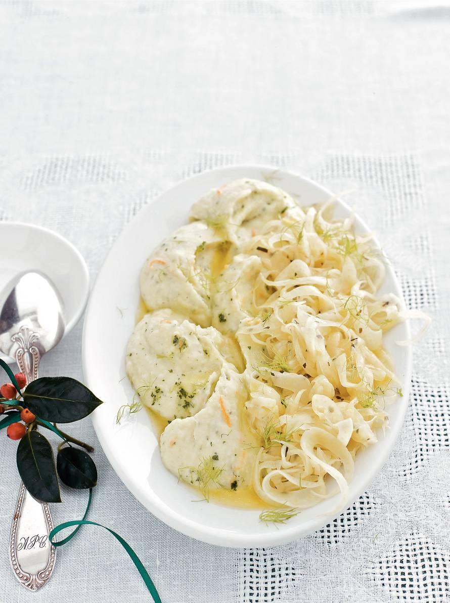 Aardappelpuree met venkel