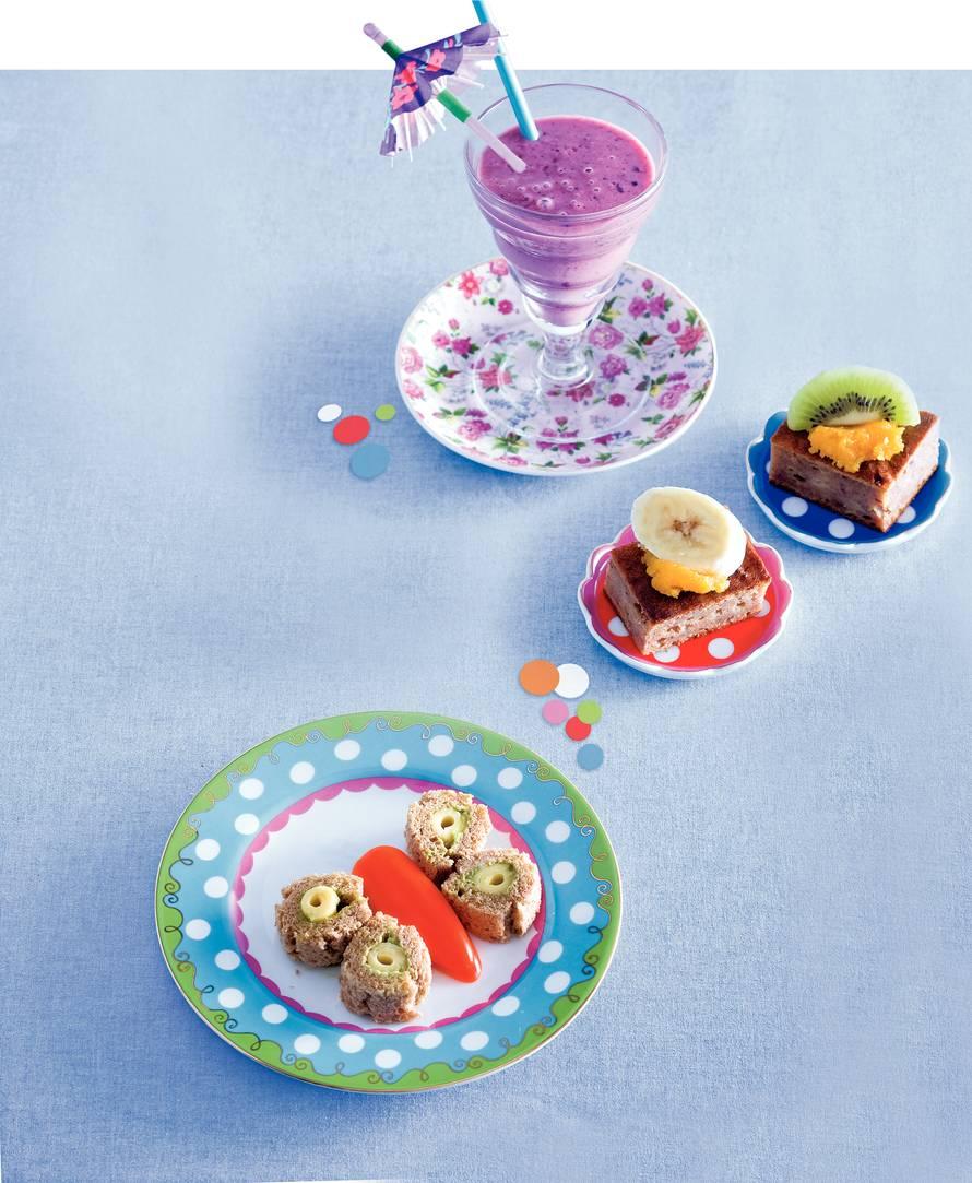 Mini-fruitcakejes