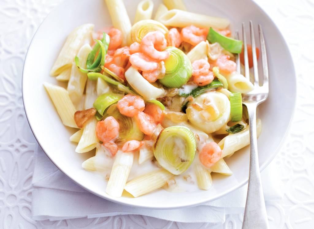 Italiaanse recepten met garnalen
