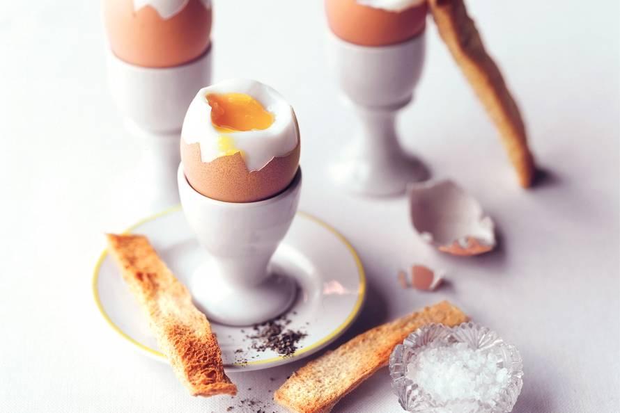 zacht gekookt eitje maken