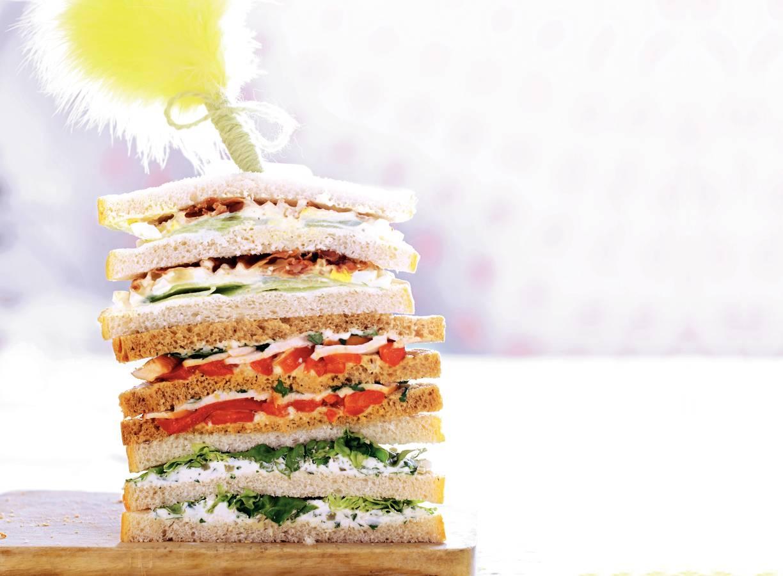 Sandwich kruidenroomkaas