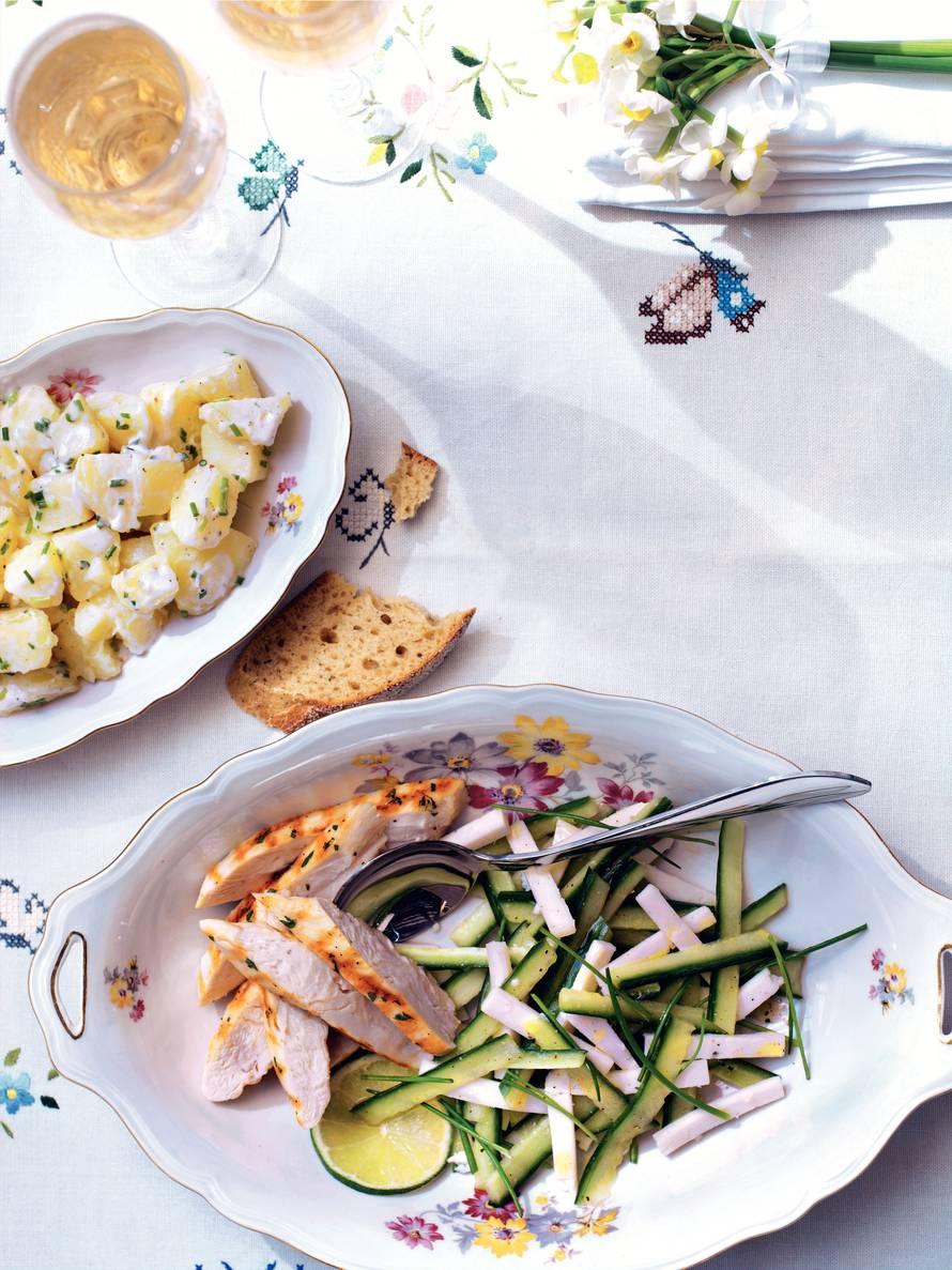 Salade met krieltjes