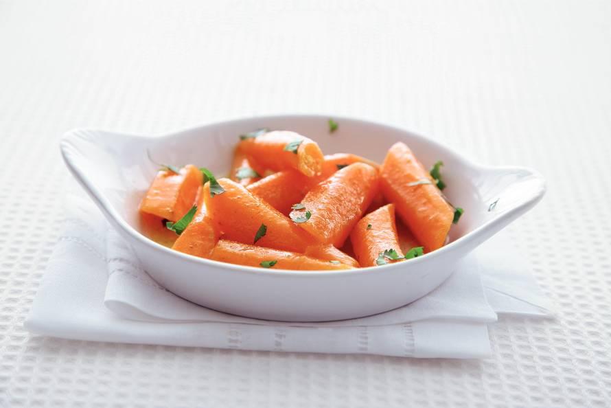 Gestoofde worteltjes met komijn