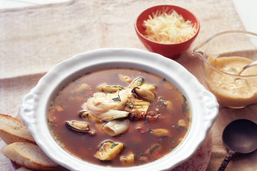 Vissoep (soupe de poisson)