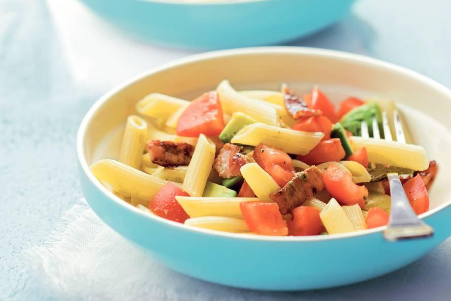 Pasta-tomatensalade
