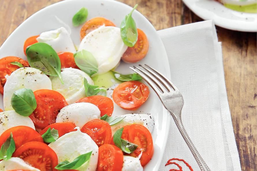 Ongebruikt Salade van mozzarella en tomaat uit Campanië - Recept - Allerhande YA-54