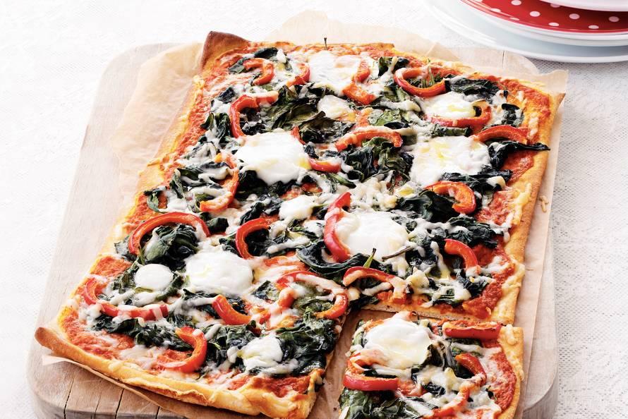 recept voor plaatpizza